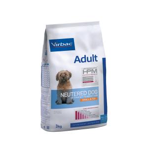 VIRBAC HPM ADULT NEUTERED DOG SMALL & TOY 1.5 KG. TIENDA PARA MASCOTAS