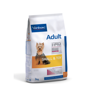 VIRBAC HPM ADULTO DOG SMALL AND TOY 7 KG. TIENDA PARA MASCOTAS