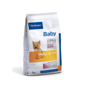 VIRBAC HPM BABY DOG SMALL AND TOY 3 KG. TIENDA PARA MASCOTAS