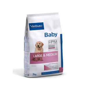 VIRBAC HPM DOG BABY LARGE & MEDIUM 12KG. TIENDA PARA MASCOTAS