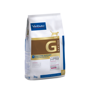 VIRBAC HPM GATO DIGESTIVO  GASTRO Cat 1 – Para trastornos digestivos 1.5kg. TIENDA PARA MASCOTAS