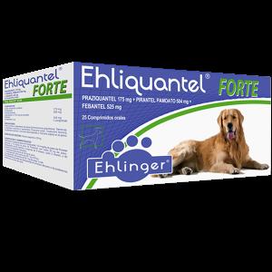 Ehliquantel Forte, Antiparasitario > 35 kg Perros. Tienda para Mascotas