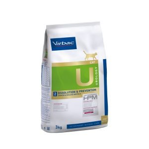 VIRBAC HPM 2 UROLOGY Cat  Disolución y prevención de cálculos de estruvita 3 kg. TIENDA PARA MASCOTAS