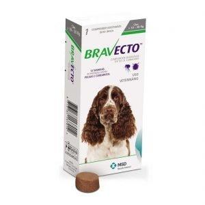 BRAVECTO 10-20 Kg  – ANTIPARASITARIO EXTERNO MASTICABLE. TIENDA PARA MASCOTAS