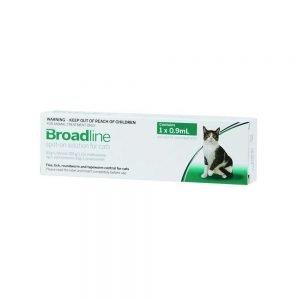 Broadline (Pulgas y Parasitos Internos), Pipeta Fácil utilización. Tienda de Mascotas