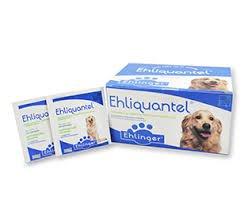 Ehliquantel, Antiparasitario Interno Perros. 1 comprimido x 10 kg. Tienda para Mascotas