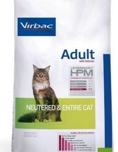 VIRBAC HPM ADULTO CAT SALMON (GATO CASTRADO Y ENTERO) 7 KG. ORIGEN FRANCES. TIENDA PARA MASCOTAS