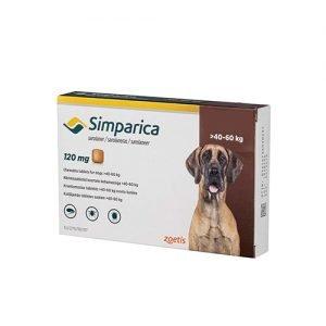 Simparica > 40 Kg, Perros Antiparasitario Masticable Externo, Tienda para Mascotas