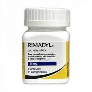 Rimadyl 25 mg para perros x 14 comprimidos. Tienda para Mascotas