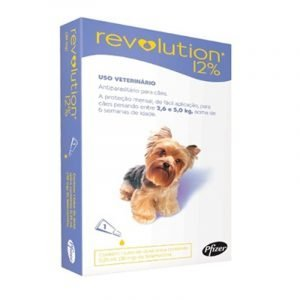Revolution  12% para Perro 2.5 a 5 kg