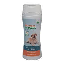 Shampoo de Matico 100% Orgánico para Perros y Gatos.