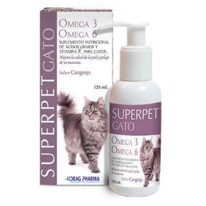 Superpet Gato Omega 3-6. Drag Pharma