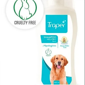 Shampoo Neutro Perro 260 ml. Traper