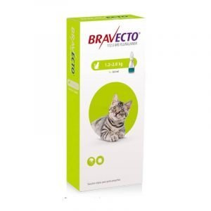 BRAVECTO GATO 1.2-2.8 KG