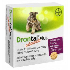 Drontal Plus Perros Antiparasitario Int. 2 comprimidos BAYER