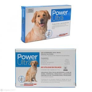 Antiparasitario Pipeta POWER ULTRA para Perros 21 a 40 Kg.