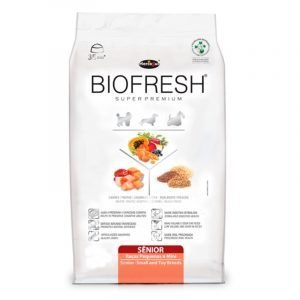 BIOFRESH SENIOR RAZA PEQUEÑA Y MINI 3KG