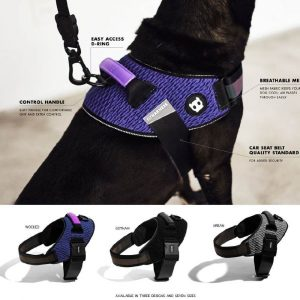 Arnes ZeeDog Fly Harness Wicked Talla 4